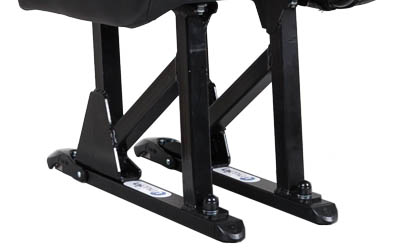 Seat locker and seat legs