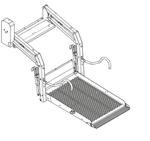 Illustration of a E-1320 solid lift