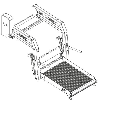 Illustration of a E-1050 solid lift