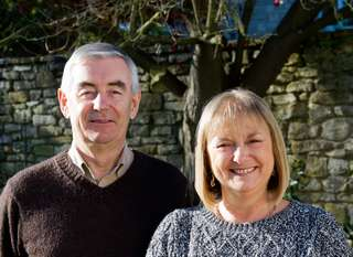 Campbell McKee and Jacqui Jones, new President and Secretary/Treasurer respectively of the EMG.
