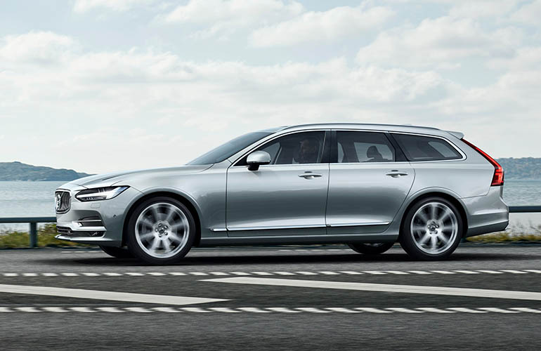 The BraunAbility Transfer Board can be installed in a Volvo V90