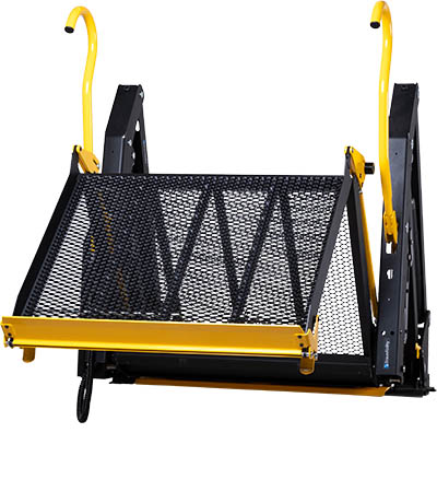 E-Series folding platform wheelchair lift.