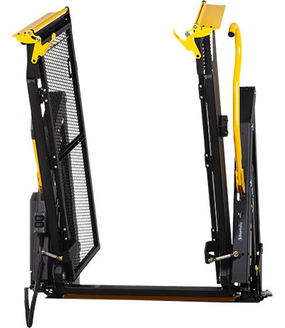 E-Series split platform wheelchair lift.