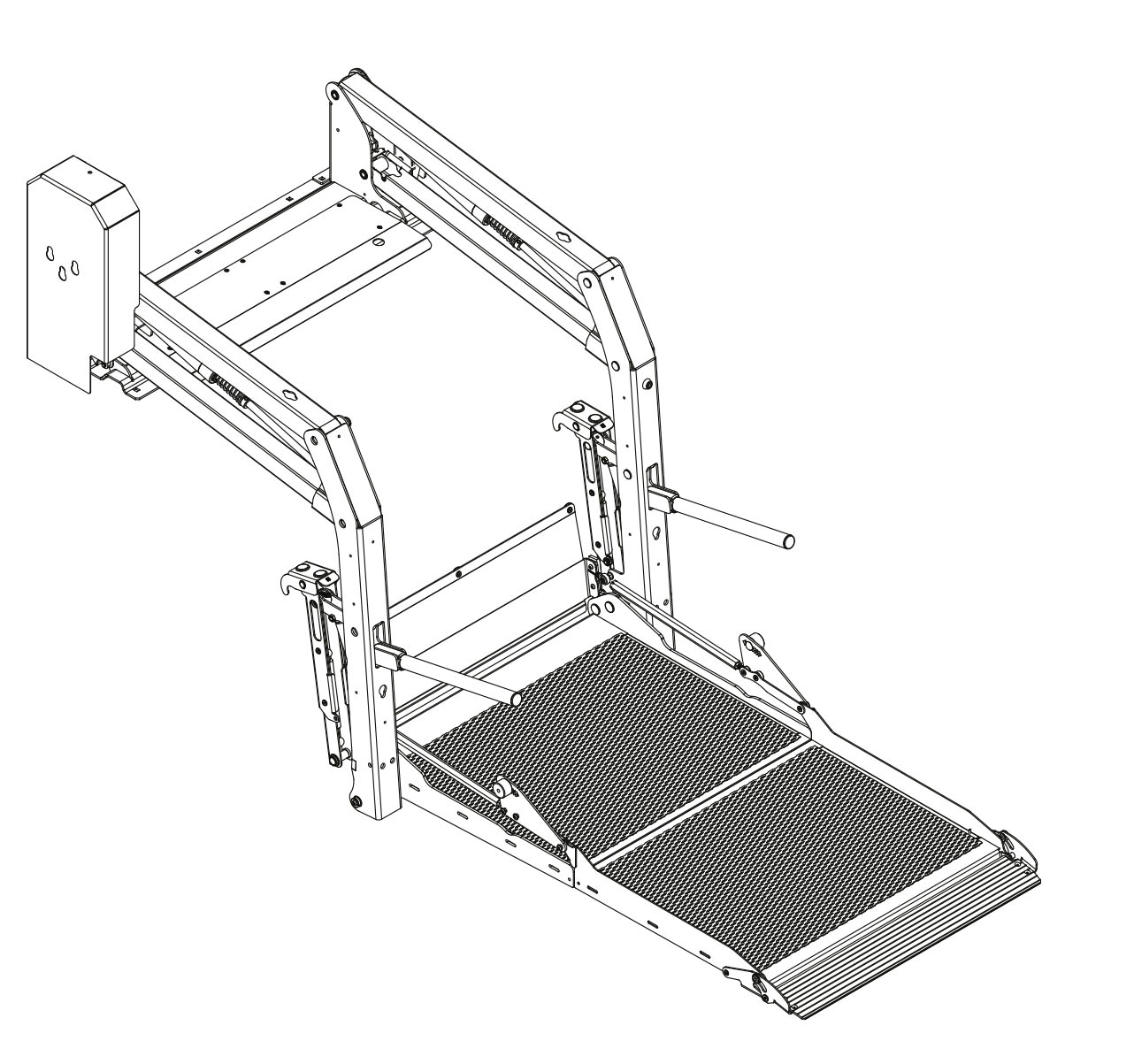 Illustration of an E-1320 folding