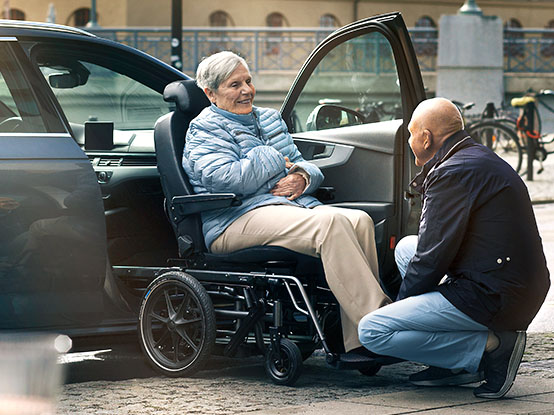 Carony Transfer From Wheelchair To Car Seat