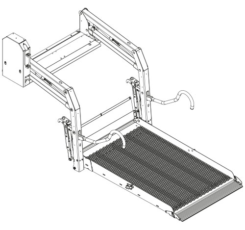 Illustration of a E-1500 solid lift